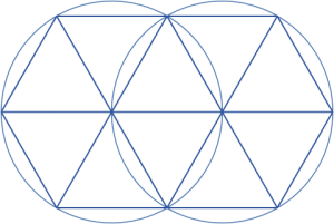 vesica piscis with angles